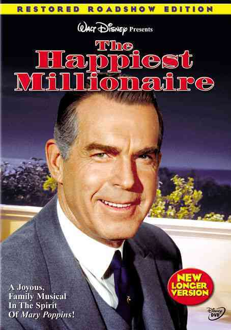 HAPPIEST MILLIONAIRE BY MACMURRAY,FRED (DVD)